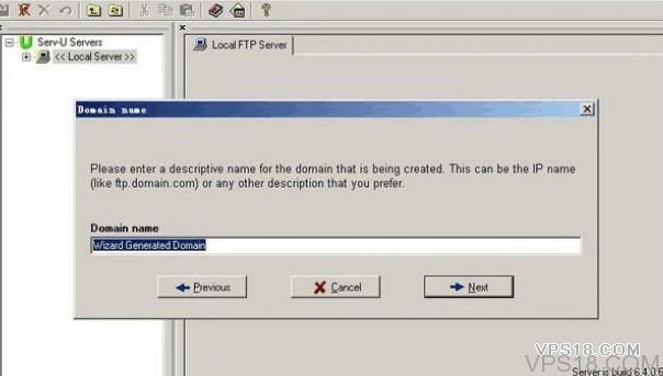 windows 建立ftp服务器serv-u 6.4版本教程